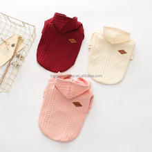 Sweater Dog Clothes for Small Pet Dog Knitwear Coat Jacket Puppy Dog Clothes Pet Clothing