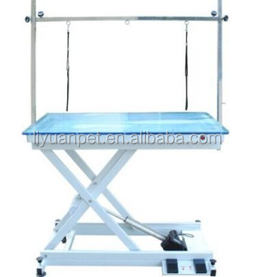 with ICE light Electric lifting pet grooming table with frame factory direct supply dog grooming table LYSGT45