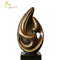 Abstract stream of consciousness composite interior decorative sculpture