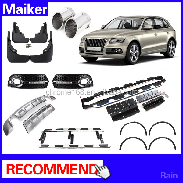 Running board Mud Guard front rear Bumper off road parts car accessories for Audi Q5