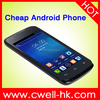 cheapest custom phone Android 4.4 4 Inch Support WIFI Bluetooth Facebook Whatsapp 2G GSM Unlocked ECON Y520
