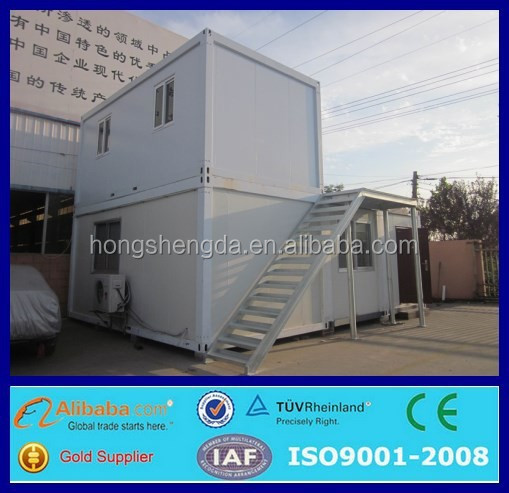 prefabricated two storey 20ft shipping container office price