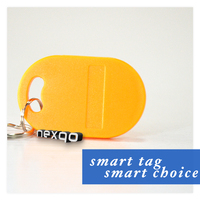 Custom oval shaped floated key fob tag /key chain/key ring wholesale