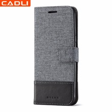 In Stock Fashion Retro PU Leather Mobile Phone Case for Samsung Galaxy S8