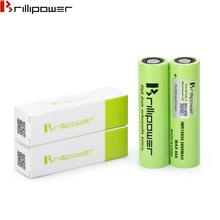 Brillipower 18650 battery 3.7v cylindrical lithium battery 18650 2600mAh li-ion rechargeable battery for ecig box mod