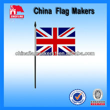 UK Country Hand Flag For Sports Promotion