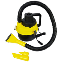 12V Handheld Car Vacuum Cleaner Cigarette Lighter Wet / Dry Cleaner & Inflator