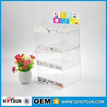 Popular Sale acrylic cell phone accessory display stand