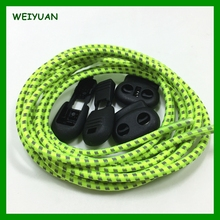 China supplier multi-color elastic no tie reflective lock laces