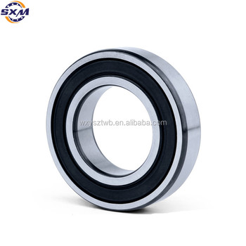 Standard Bicycle Wheel Bearings Deep Groove Ball Bearing 6200 Made in China