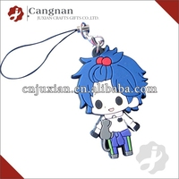promotion rubber keyring