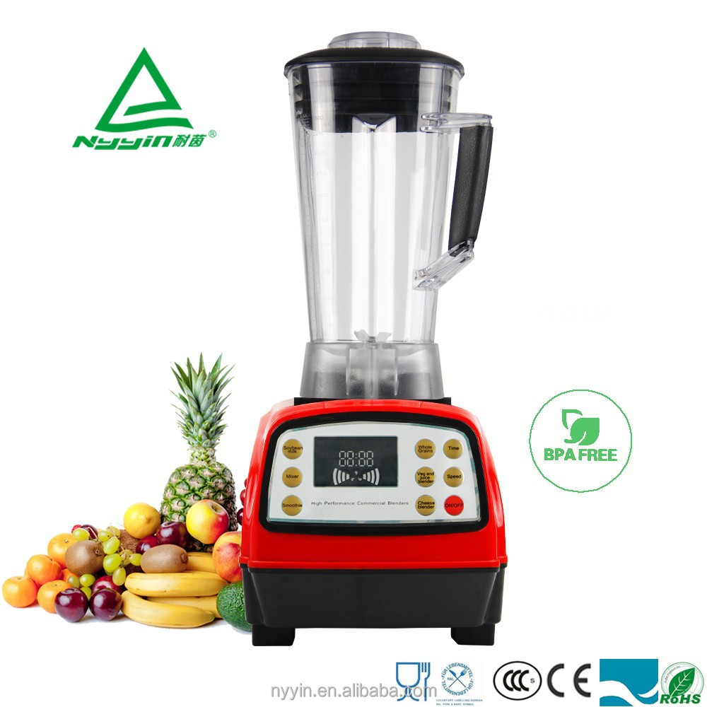 German Motor Technology 2200W High Quality Professional Commercial table blender , Food Processor, Mixer, Juicer, 2.5L Capacity