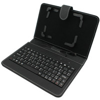 "Cheap price promotional 7""~8"" leather case with bluetooth keyboard"
