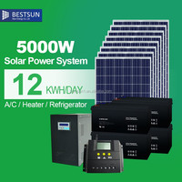 5KW 10KW Solar Electricity Generating System For Home,Photovoltaic Solar Panel Complete Set,China Solar Panel Kits