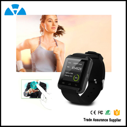 Dovina CE ROHS Smart Watch Mobile Phone With Heart Rate Monitor (U8)