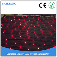 fabric curtain led decoration light for wedding backdrops