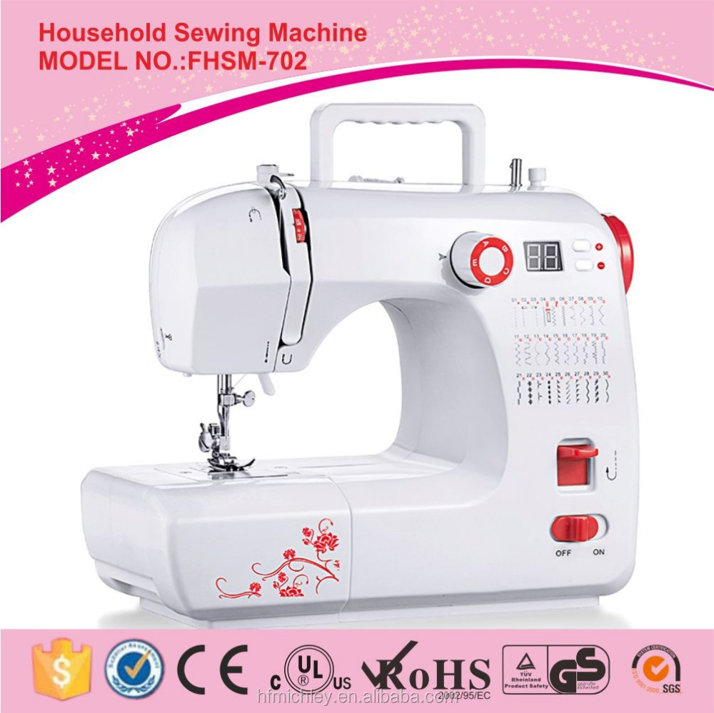 FHSM-702 single needle lockstitch mini overlock power tailor sewing machine