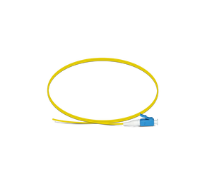 Grade A singlemode or multimode 1M LC/UPC fiber optic pigtail
