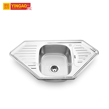 Fantasy design concrete stainless steel kitchen sink pakistan