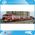Dongfeng 6*4 red fire engine fire fighting truck