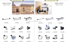 Lunxury modern ORB black brass bathroom accessories sets distributor from china for bathroom and toilet