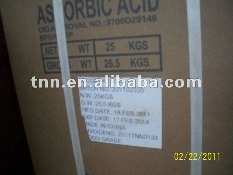 L-ascorbic acid supplier Google by Fedex mall order accepted 30/70 payment