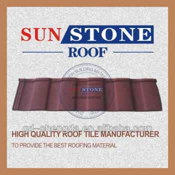aluminium and zinc coated zinc plate metal roof tiles