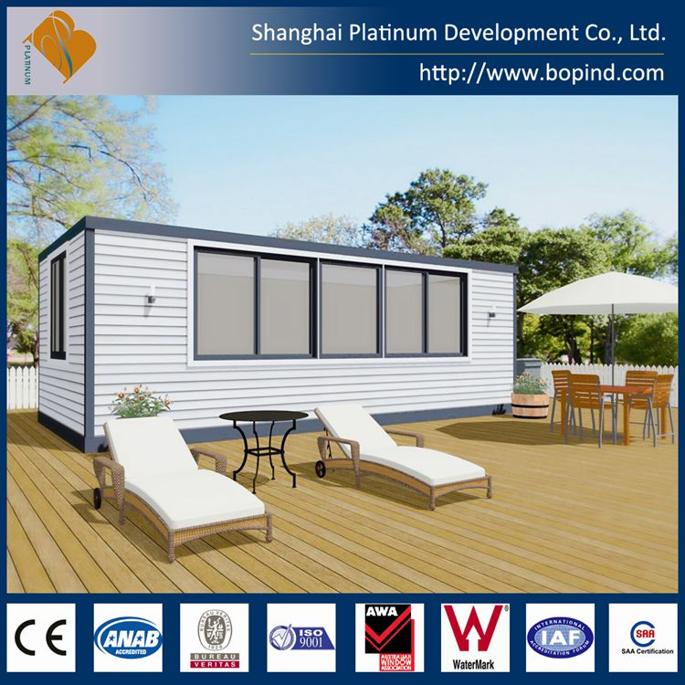 Prefab container homes Solar power