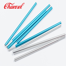 Hot Sale Industrial/Family thin wall/flexible aluminum tent pipe /aluminium tent poles