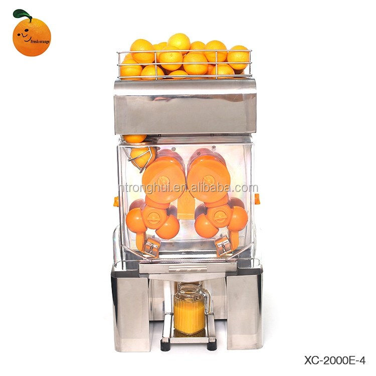 Powerful Counter Type Juicer With Pulp Fruit Juice Squeezer Supermarket Use Juicer