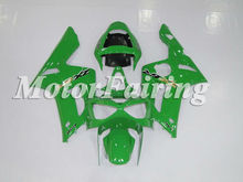 Advanced quality Motorcycle Body kits for ZX-6R 03-04 fairing kits for Kawasaki EX-6R 2003-2004 deepen green