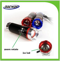 Factory colorful Torches Tail Push Switch LED Bike Light