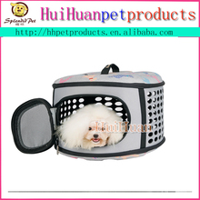 Lovely style puppy pattern pet kennel dog cage