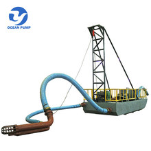 Best quality river dredge small sand barges for sale