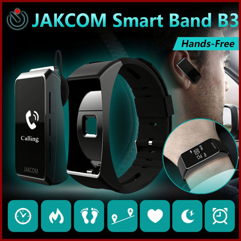 Jakcom B3 Smart Watch 2017 New Product Of Bluetooth Car Kit Hot Sale With Online Fm Transmitter Mod Mp4 Aux Bluetooth Adapter