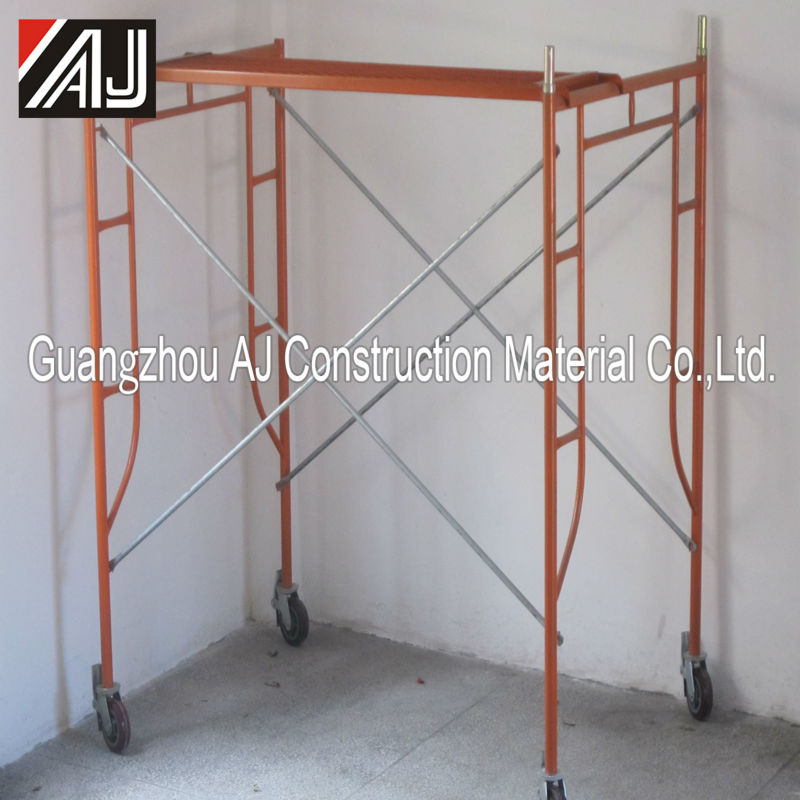 hot used products for 2016 mobile scaffold in construction
