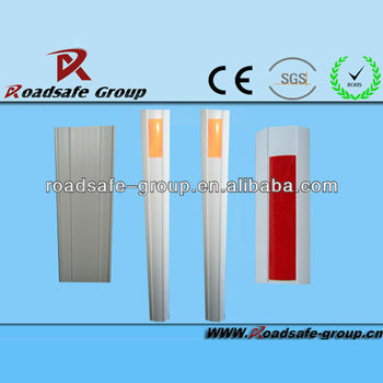 Traffic highway guardrail delineator/highway safety reflectors