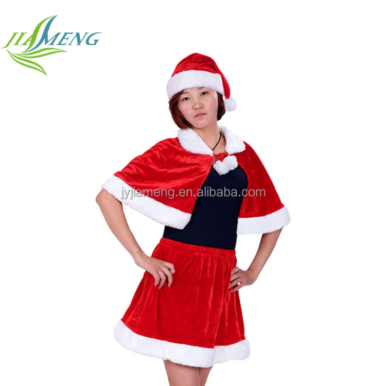 Cosplay Red Santa Christmas Costumes For Women Party Dress
