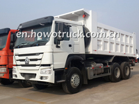 2015 NEW Sinotruk 6x4 HOWO small dump truck sale for jinan ZZ3257N5247C1 dump truck with a/c