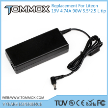 19V 4.74A 90W 5.5*2.5 L tip laptop adapter PA-1900-32 for Liteon 4720G 4720Z 4730G 4740G 4741G
