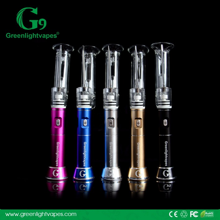 Authentic g9 henail with ceramic/titanium/quartz nail Wholesale dry herb vaporizer dab rig of g9 h-enail