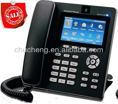 VoIP WIFI SIP Phone GXV3140 manufacturer