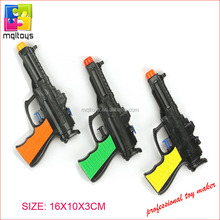 Outer gun toy PP material black toy water gun