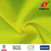 EN471 High visibility Fluoresent Fabric for Reflective Safety vest