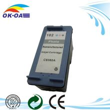 China Products recycled ink cartridge for 102 C9360AE