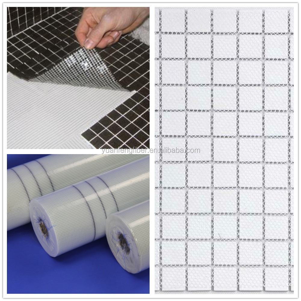 mosaic glass fiber mesh, fiberglass mesh for mosaic backing tile