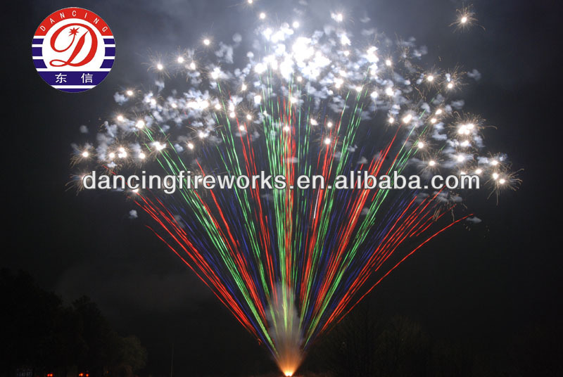 display fireworks 300 Shots Fan Shape Dragon & Phoenix