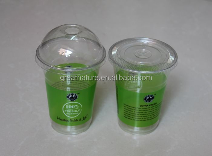 Disposable coffee plastic cups