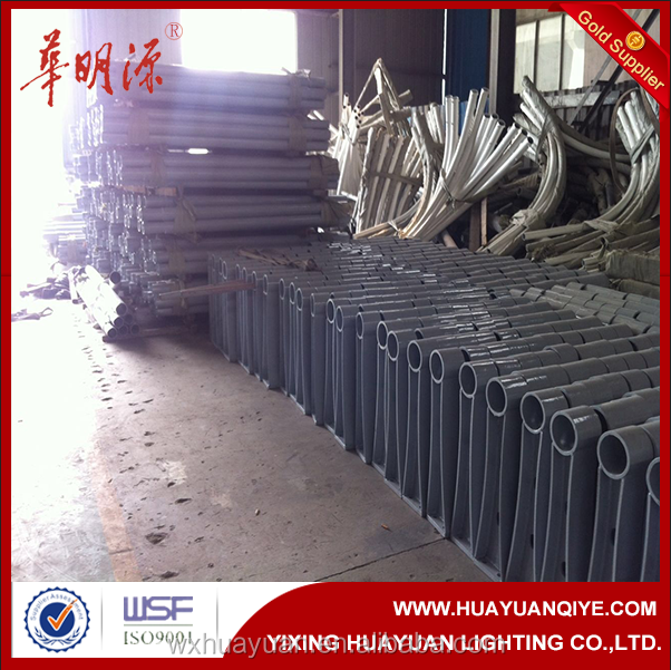 Power zinc street safety steel barrier