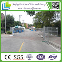cheap ! cheap ! security outdoor hot dipped galvanized /electric galvanized welded wire mesh temporary fence